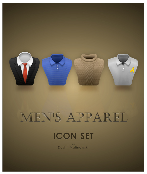 Men's Apparel Icons
