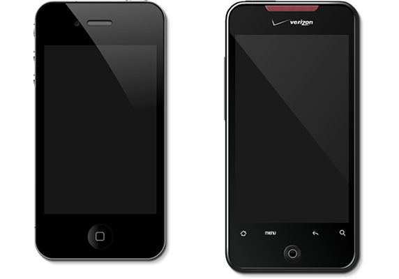 iPhone and Incredible Smartphone Templates