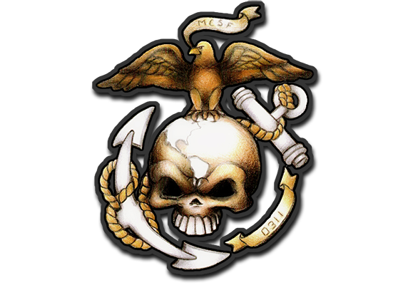 USMC Tattoo Design
