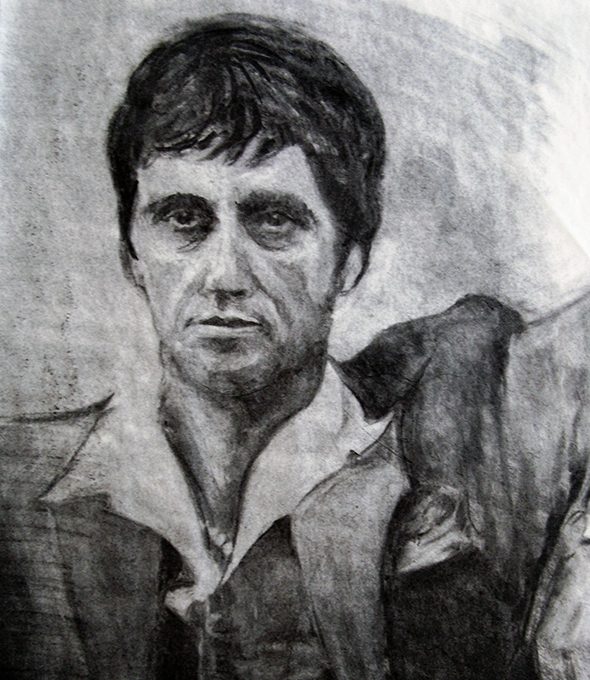Scarface Charcoal
