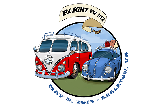VW Cruisers T-Shirt Design